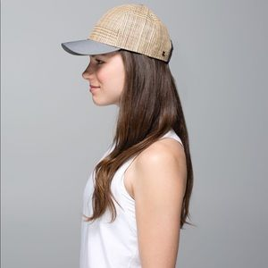 Lululemon straw cap